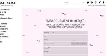 www.nafnaf.com - Jeu Naf Naf Embarquement Immédiat
