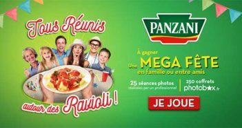 www.ravioliparty.fr - Jeu Ravioli Party Panzani