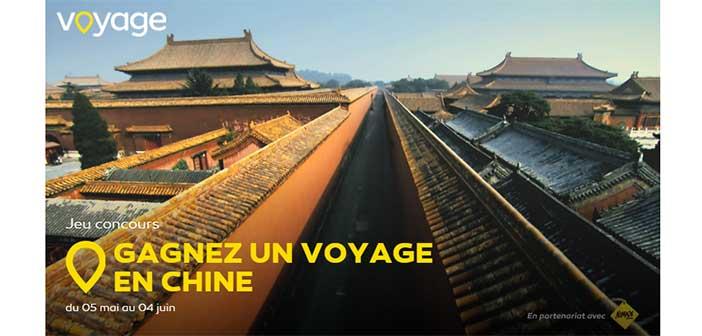 www.voyage.fr - Grand Jeu Voyage Le Mois de la Chine