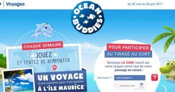 www.carrefour.fr/ocean-buddies - Jeu Carrefour Voyages Ocean Buddies