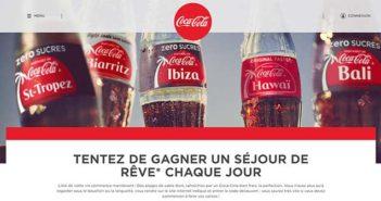 www.cocacola.fr/ete - Jeu Coca-Cola Summer Été