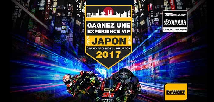 www.dewalt.fr/japanmotogp - Jeu Dewalt Grand Prix du Japon