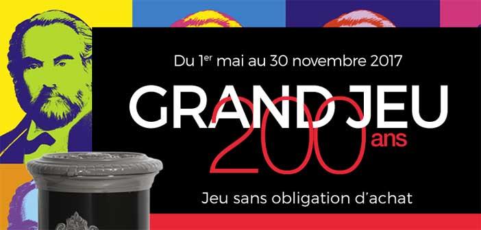 www.godin.fr/jeu-concours - Grand Jeu 200 ans Godin