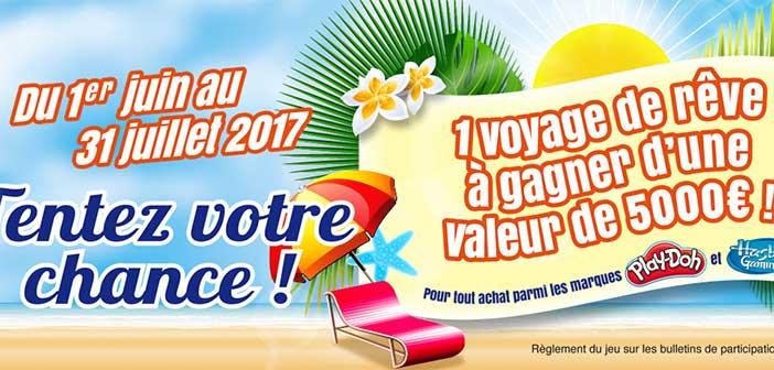 www.hasbro.com - Grand Jeu Hasbro Départ en Vacances