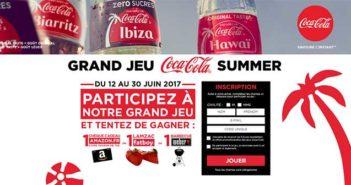 www.jeucocacolasummer.com - Jeu Coca-Cola Summer