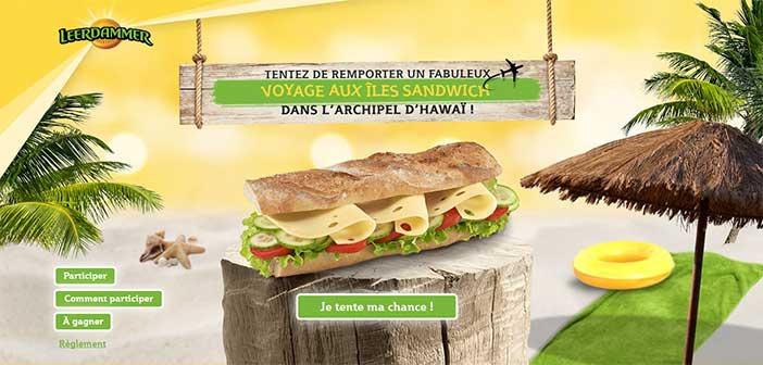 www.leerdammer.fr/grandjeu - Jeu Leerdammer Sandwich
