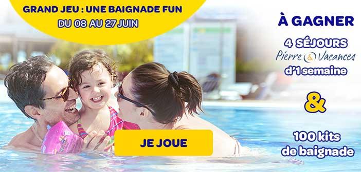 www.littleswimmers.fr/game - Jeu Huggies Little Swimmers