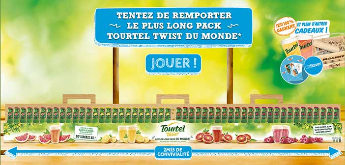 www.tourtel-twist.fr - Jeu Tourtel Twist Le plus long pack du monde
