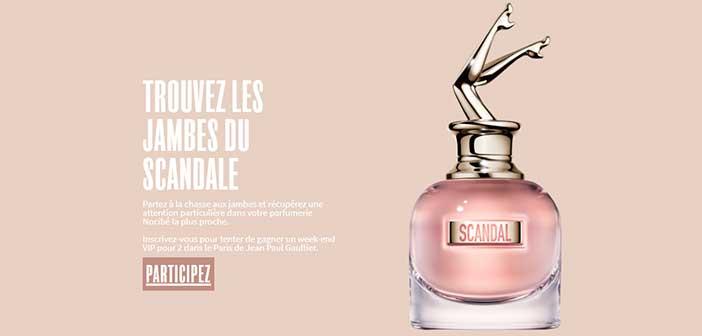 Nocibe-jeanpaulgaultier-scandal.fr - Jeu Nocibe Jean Paul Gaultier