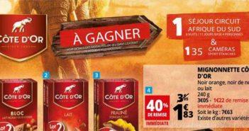 www.auchan.fr - Jeu SMS Auchan Chocolat Côte d'Or