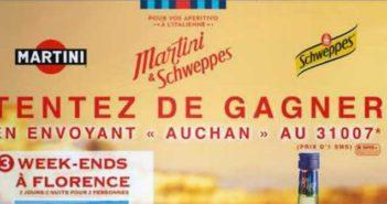 www.auchan.fr - Jeu SMS Auchan Martini Schweppes