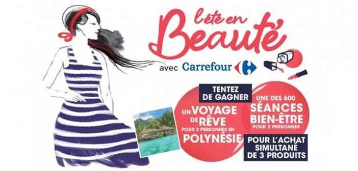 www.carrefour.fr - Jeu Carrefour l'été en Beauté