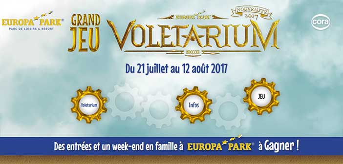 www.concours-cafetcora.fr - Jeu Cafétéria Cora Voletarium Europa-Park