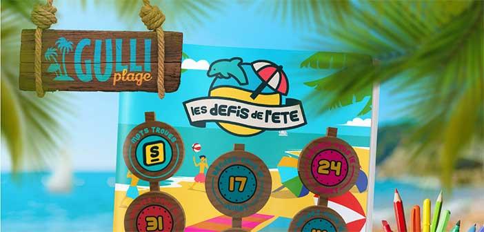 www.gulli.fr - Jeu Gulli Plage Les défis de l'été