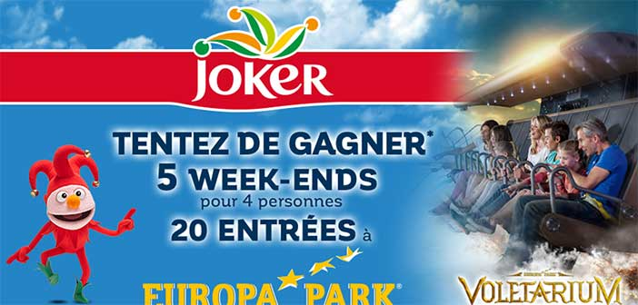 www.joker.fr - Grand Jeu Joker Europa-Park
