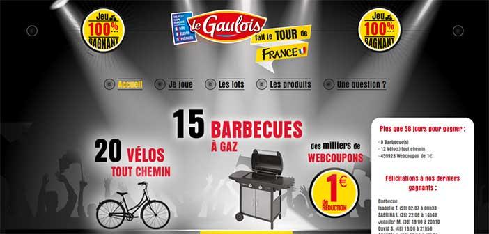 www.legauloistourdefrance.fr - Jeu Le Gaulois Tour de France 2017