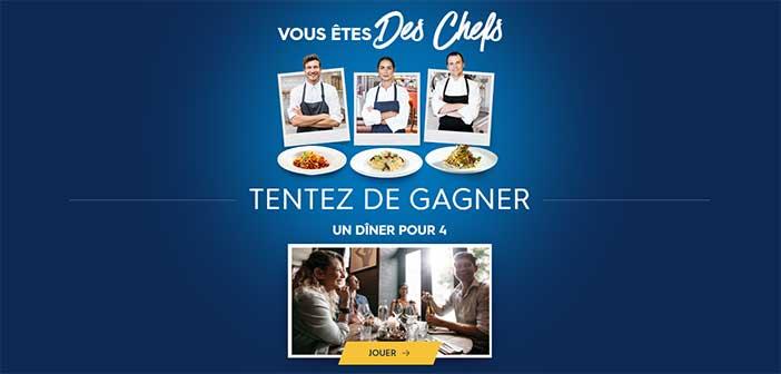 www.leschefsbarilla.fr - Jeu Barilla Les Chefs Barilla