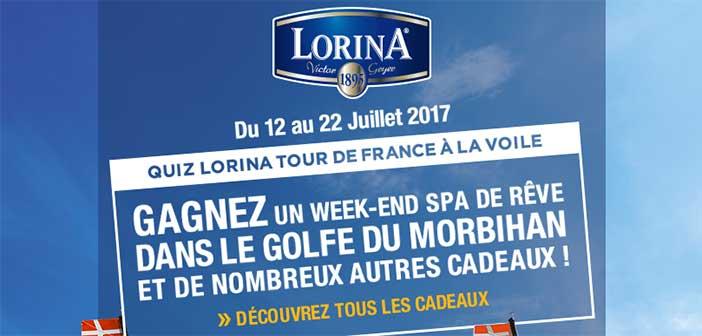 www.lorina.com - Jeu Lorina Tour de France à la Voile