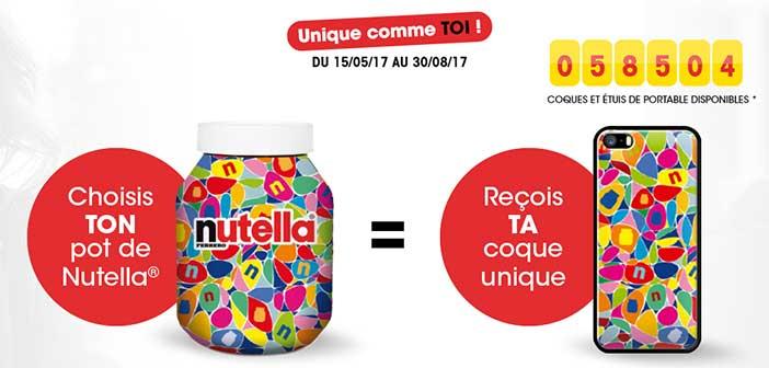 www.nutella.com - Offre Unique Comme Toi Nutella