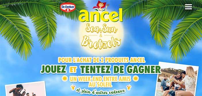 www.ancel2017.fr - Jeu Ancel Sea, Sun & Bretzel