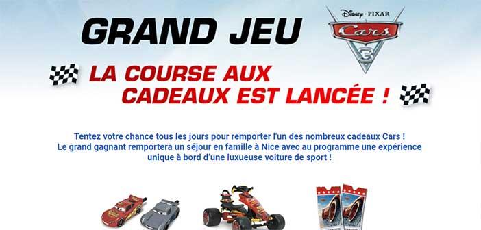 www.carrefour.fr/jeux-concours - Grand Jeu Cars 3 Carrefour