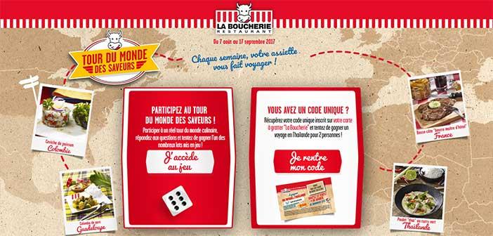 www.la-boucherie.fr - Jeu La Boucherie Restaurant Tour du monde des saveurs