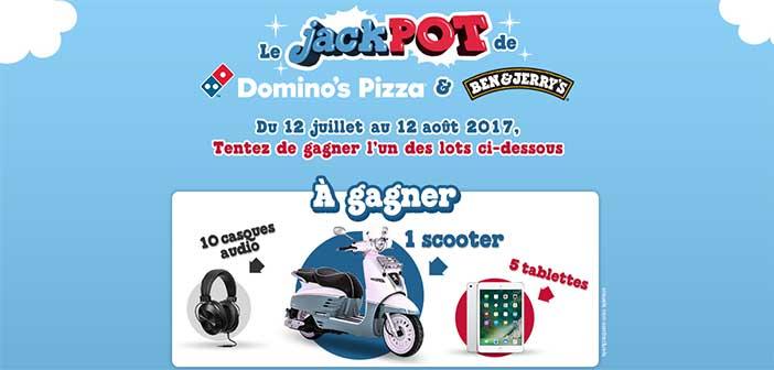 www.lejackpotdominos.fr - Jeu Jackpot Dominos Ben & Jerry's