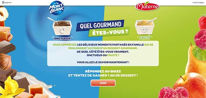 www.quelgourmandetesvous.fr - Jeu Materne Mont-Blanc
