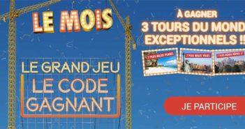 carrefour.fr/le-mois-carrefour - Jeu Le Mois Le Code Gagnant Carrefour