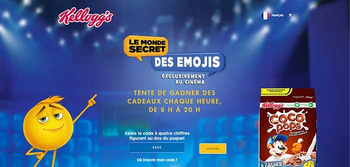 Emoji.kelloggs.com - Jeu Emoji Coco Pops Kellogg's