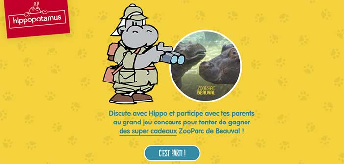 Hippoetmoi.hippopotamus.fr - Jeu Hippopotamus Rencontre un Hippo