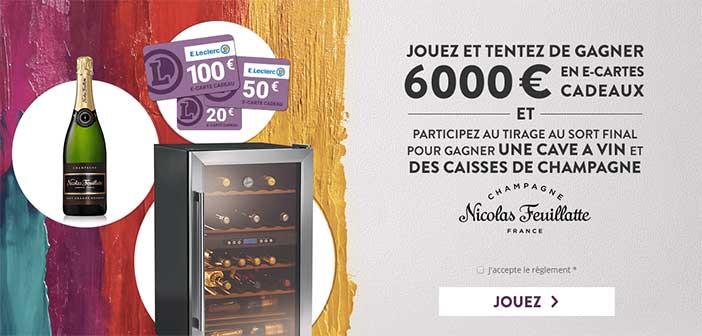 Jeux-hcd.e-leclerc.com - Jeu La Foire aux Vins E.Leclerc