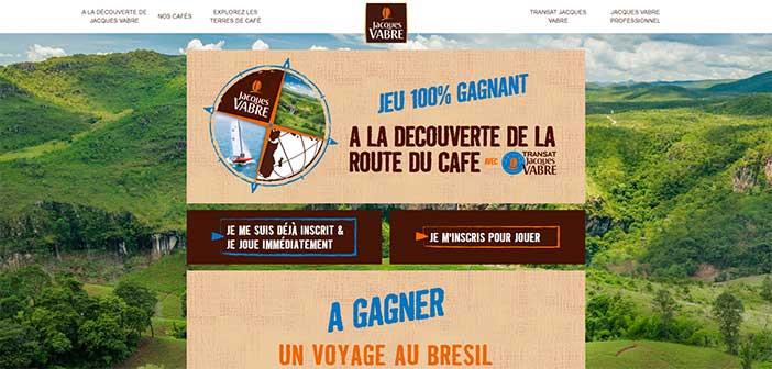 Route-du-cafe.jacques-vabre.com - Jeu Transat Jacques Vabre