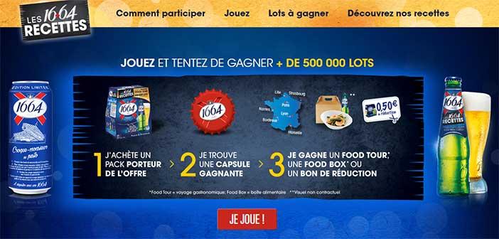 www.1664recettes.fr - Grand Jeu Les 16+64 Recettes