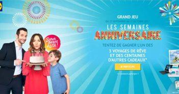 www.anniversaire-lidl.fr - Jeu Les Semaines Anniversaire Lidl