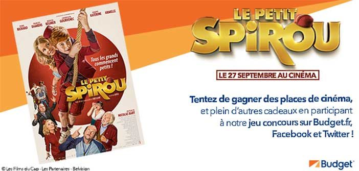 www.budget.fr - Jeu Budget Le Petit Spirou