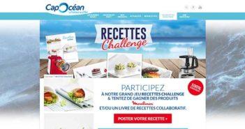 www.capocean.fr - Jeu Recettes Challenge Cap Océan