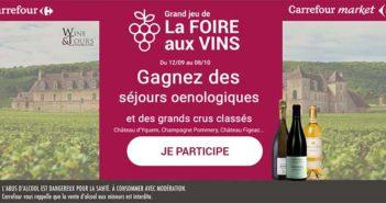 www.carrefour.fr/jeux-concours - Jeu Carrefour Foire aux Vins