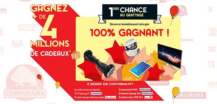 www.conforama.fr - Grand Jeu Anniversaire Conforama 50 ans