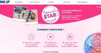 www.demakup.com - Jeu Demak'Up Beauty Star