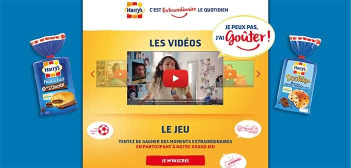 www.harrys-jeu.fr - Jeu Harrys Goûter 2017