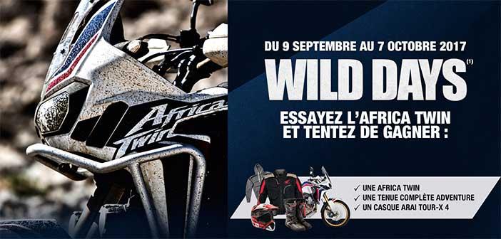 www.honda-wild-days.fr - Jeu Honda Wild Days