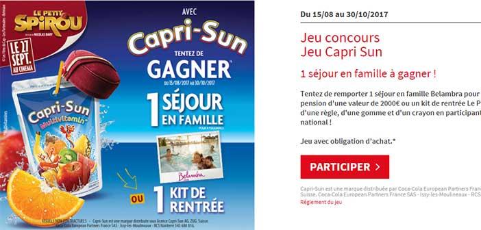 www.jeu-caprisun.fr - Jeu Capri-Sun Le Petit Spirou