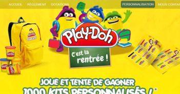 www.larentreeplaydoh.com - Jeu de la Rentrée Playdoh