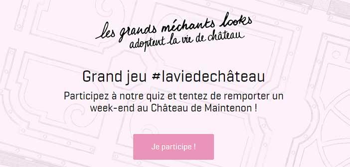 www.nafnaf.com - Jeu Naf Naf #laviedechâteau