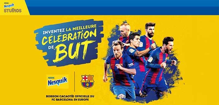 www.nesquikstudios.fr - Jeu Nesquik La meilleure célébration de but
