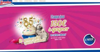 www.spontexanniversaire85ans.fr - Jeu Anniversaire Spontex 85 ans
