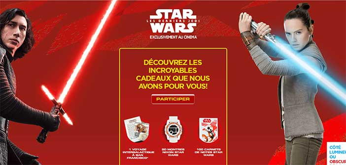 www.starwars.nestle-cereals.fr - Jeu Stars War Nestlé Céréales