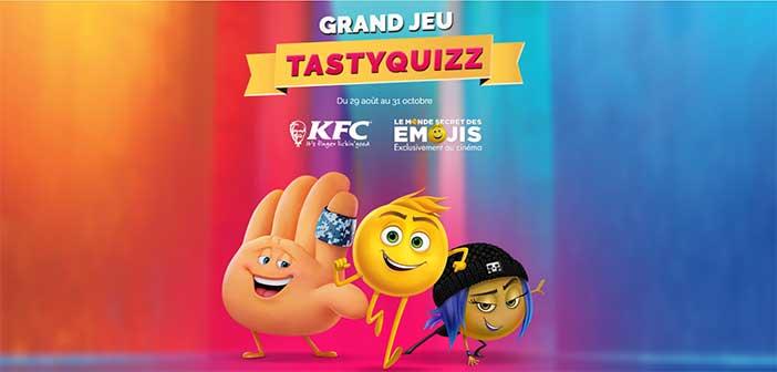 www.tastyquizz.com - Jeu TastyQuizz Emojis KFC