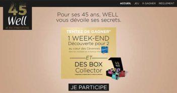 www.well-45ans.fr - Jeu Well 45 ans Anniversaire